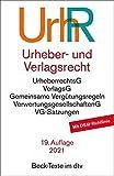 Urheber- und Verlagsrecht: Rechtsstand: voraussichtlich 1. Dezember 2020 (Beck-Texte im dtv)