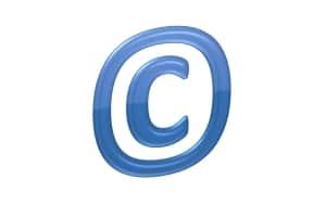 Der Copyright-Vermerk wird als Hinweis gerne im Internet genutzt.