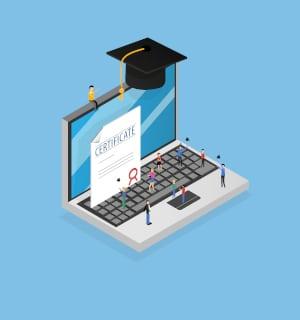 Ein digitales Klassenzimmer holt den gesamten Schulalltag in die digitale Welt.