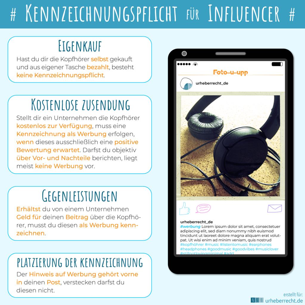 In den sozialen Medien gilt eine Kennzeichnungspflicht für Influencer.