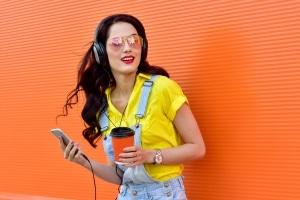 Musikbörse: Das Tauschen von Songs kann illegal sein.
