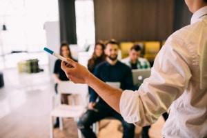 Deutsches Patentamt: Zur Markenrecherche bietet die Behörde unter anderem Workshops an.