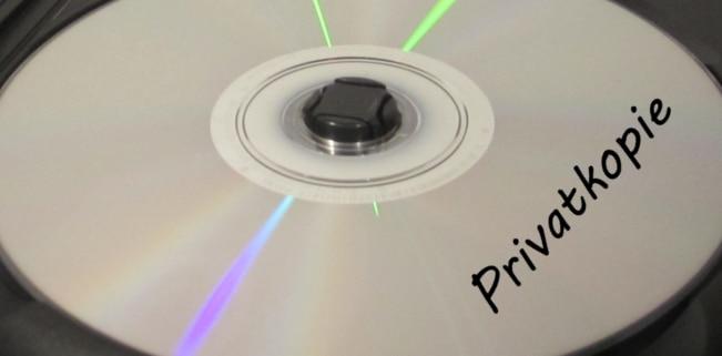 Die Anfertigung einer Privatkopie ist im Urheberrecht zulässig.