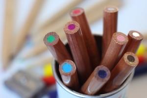 Als Werke der bildenden Kunst schützt das Urheberrecht auch die Malerei.