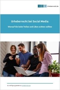 eBook zum Urheberrecht bei Social Media