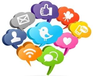 Urheberrecht: Soziale Netzwerke ermöglichen den Austausch von Werken.