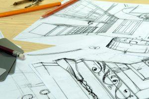 Urheberrechtlich werden auch technische Zeichnungen geschützt.