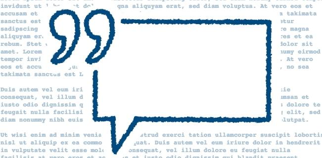 Zitate veröffentlichen: Das Urheberrecht definiert Vorgaben für die Verwendung fremder Werke.
